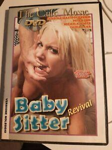 """DVD """"Baby Sitter Revival"""" di Alberto Cavallone - film erotico d'autore raro"""