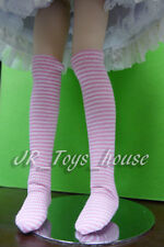 Pink Border Over-knee Socks fits Volks MSD MDD Mini Dollfie Dream 1/4 BJD