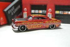 Hot Wheels Loose - Custom '53 Chevy - Maroon Red w/ Flames - 1:64