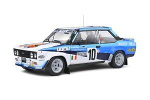 Solido 1:18 S1806001 1980 Fiat 131 Abarth 1st. Rallye Monte Carlo (W. Röhrl) #10
