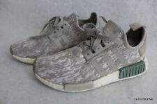 Adidas Men's NMD R1 Boost Running Shoes Green Beige Glitch Camo Size 7 CQ0860