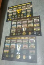 HAWTHORN PREMIERSHIP HISTORY PRINTS 2013,  2014 AND 2015 UNFRAMED 3PEAT