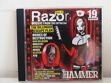 CD ALBUM Compil METAL HAMMER Razor Vol 6 DILLINGER ESCAPE PLAN / MINISTRY