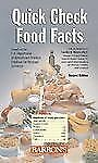 Quick Check Food Facts (2006, Paperback)