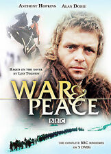 WAR&PEACE THE COMPLETE BBC MINISERIES(DVD, 2007, 5 DISC SET)ANTHONY HOPKINS ALAN