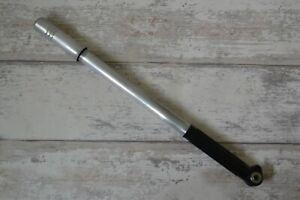 Vintage Lightweight Frame Fitting Pump Silver & Black - Presta Valve 44cm