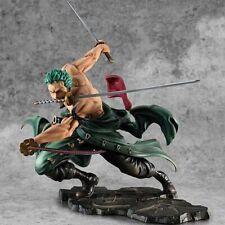 Anime One Piece Roronoa Zoro Figure  SA-Maximum Manga Figurine  Collection 18cm