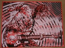 Miles Tsang A Place To Bury Strangers Columbus Poster Print Signed Numbered 2012
