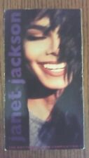 Janet Jackson The Rhythm Nation Compilation Music VHS Video