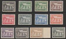 Turks & Caicos Is MINT GVI 1938-45 part set to 1/-