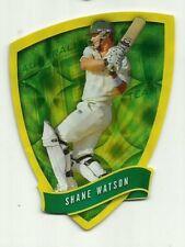 2009/10 Select Cricket Australia DIE CUT FDC20 SHANE WATSON TEST TEAM CARD ACB