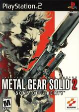 Metal Gear Solid 2 Sons Of Liberty PS2 Playstation 2