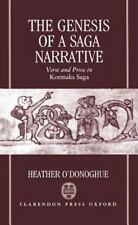 NEW - The Genesis of a Saga Narrative: Verse and Prose in Kormaks Saga