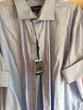 Designer Sambuca Mens Short Sleeve Cuff Shirt Size 3X
