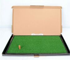 Removable Golf Practice Training Indoor Skid Resistance Artificial Turf Mat#
