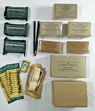 WWII US Army Combat Medic Corpsman First Aid Bandage Dressing Medical Supply Lot