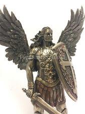 Archangel- Saint Michael With Sword and shield Statue Sculpture figurine