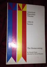 Cambridge American Repertory Theatre ART Pinter The Homecoming Wheeler -Complete