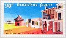 BURKINA FASO 1987 1158 828 Intl. Year of Shelter for Homeless Houses Gebäude MNH