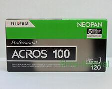 5 rolls FUJI NEOPAN ACROS 100 120 Black & White Film Medium Format FREESHIP