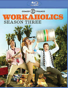 Workaholics: Season 3 Complete Third (Blu-ray) NEW Factory Sealed, Free Shipping