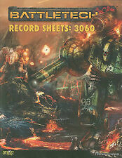 NEW Battletech Record Sheets: 3060 (Battletech (Unnumbered)) by Randall N Bills