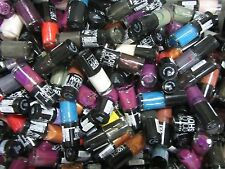 100 MAYBELLINE COLOR SHOW NAIL POLISH - GOOD MIX OF COLORS - ALL NEW - EL 3326