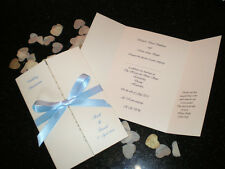 75 Personalised Gatefold Wedding Invitations Classic Style