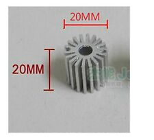 5 pcs Mini size 1W Watt LED Aluminium Heatsink long Round