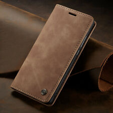 For Huawei P30 Pro Case P20 Lite Retro Magnetic Leather Card Slot Wallet Cover
