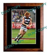 CAMERON LING GEELONG CATS FC 2011 PREMIERS A3 PHOTO 2