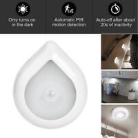 6 LED Motion Sensor Night Light Outdoor Garden Wall Hallway Stairs Lamp Magnet