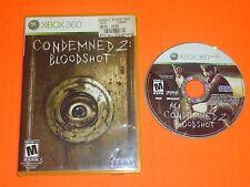 Condemned 2 II Bloodshot (Microsoft Xbox 360) Survival Horror bewertet M Reifen