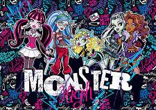Chambre d'enfants Murale Géante papier-peint photo 368x254cm Monster High école
