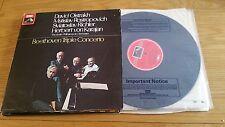 BEETHOVEN TRIPLE CONCERTO OISTRAKH ROSTROPOVICH RICHTER KARAJAN - ASD 2582 - LP