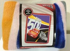 """Cars 3 The Florida 500 No-Sew Fleece Throw Kit 43""""×55""""and Quick Fix Toolbox 14pc"""