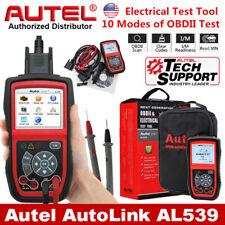 Autel AL539 Car Diagnostic Tool OBD2 EOBD Code Reader Scanner Electrical Tester