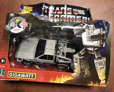 Transformers Back to the Future Crossover Gigawatt 35th Anniversary BOX DAMAGE