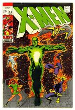 X-Men #55 FN/VF 1969 Marvel Comic Book