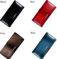 Women Long Wallet and Purses Genuine Leather Clutch Zipper Designer Ladies Purse