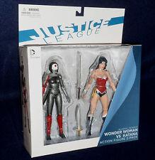 DC Comics The New 52 Justice League WONDER WOMAN vs KATANA Action Figure Direct