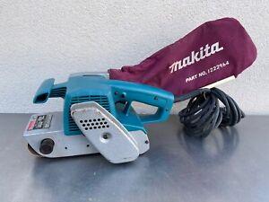 Makita 9900B 3 x 21 BELT SANDER good Dust Bag Corded 115V  7.8 Amp