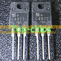 10Pcs 2SC4977 C4977 TO-220F MOLD TYPE BIPOLAR TRANSISTORS