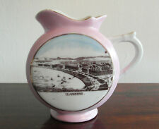Antique Pink Lustre Jug with Llandudno Print