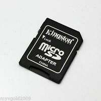 Genuine Kingston MicroSD TF to SD Card Adapter,MicroSD Adapter with plastic case