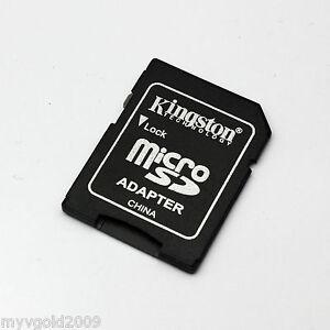 100 pcs Kingston MicroSD TF to SD Card Adapter,MicroSDHC MicroSDXC Adapters