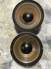 """JBL 2206H PAIR 12"""" Woofer Good Working Condition WILL RECEIVE TWO SPEAKERS"""
