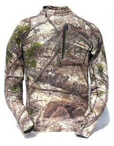 Cabela's INSTINCT Mens Backcountry Active Lightweight Hunting 1/4-Zip T Pullover
