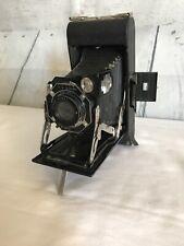 Kodak Junior Six-16 Series II ART DECO Octagonal Face Folding Camera VG