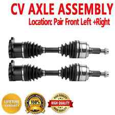 Pair Front CV Axle Drive for AVALANCHE 1500 K2500SILVERADO SUBURBAN 4WD AWD
